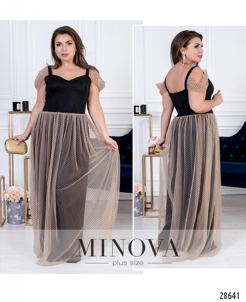 Платье №41192-беж