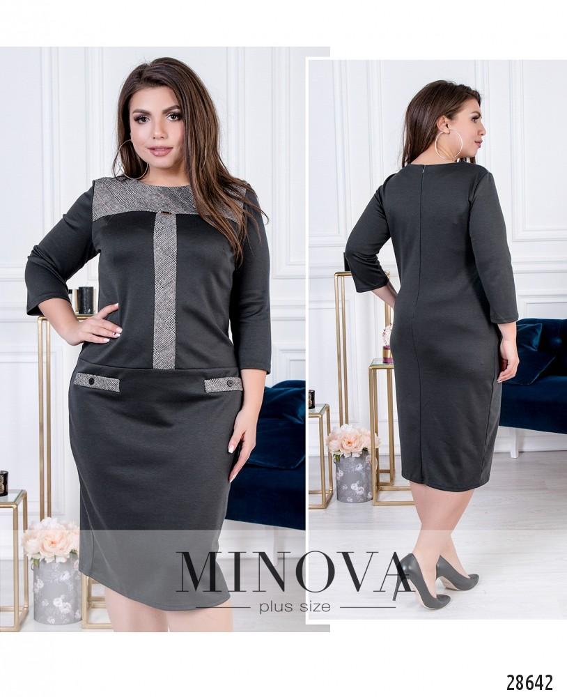 Платье №0233-графит