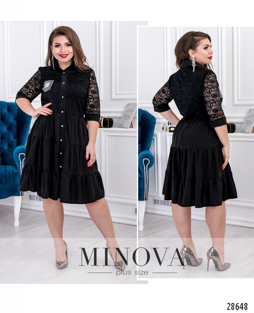 Платье №092-черный