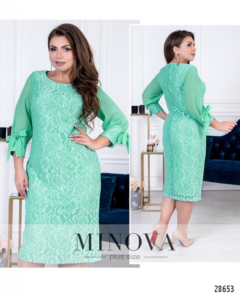 Платье №422-мята