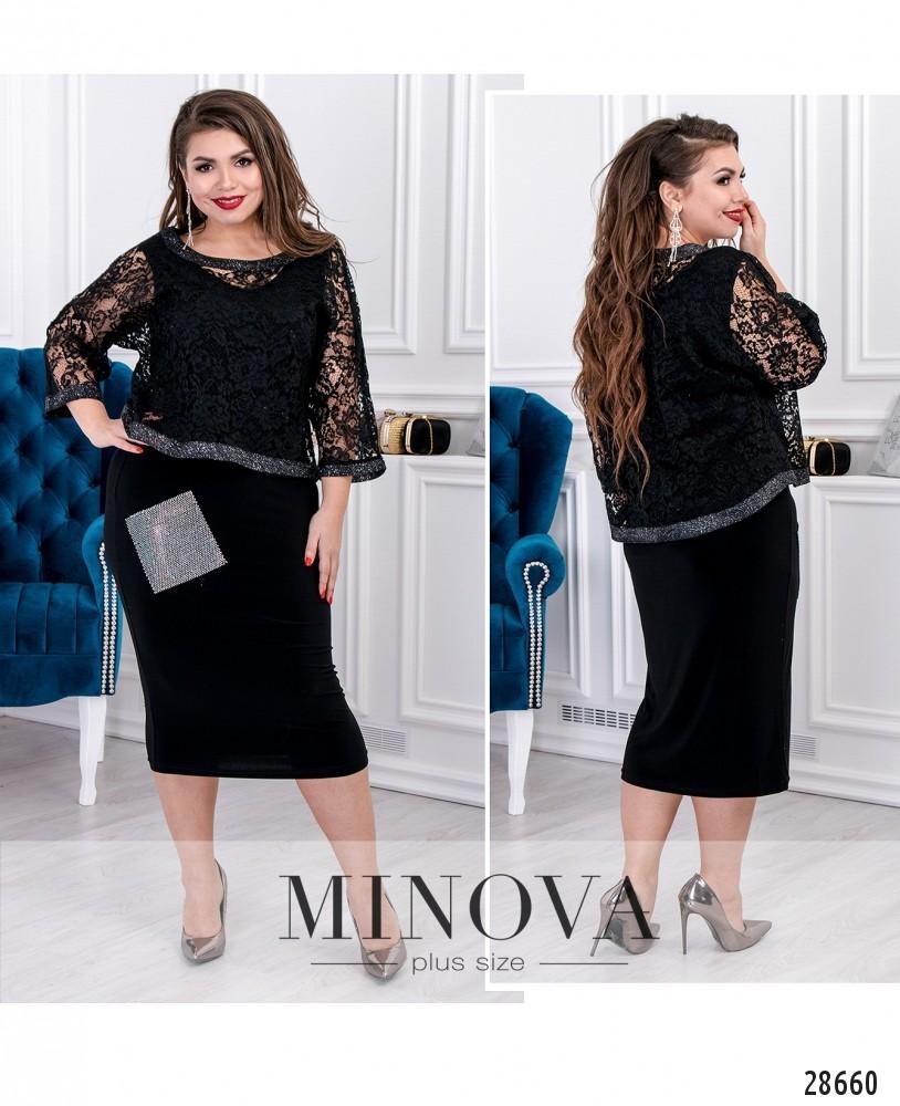 Платье №19-04-черный