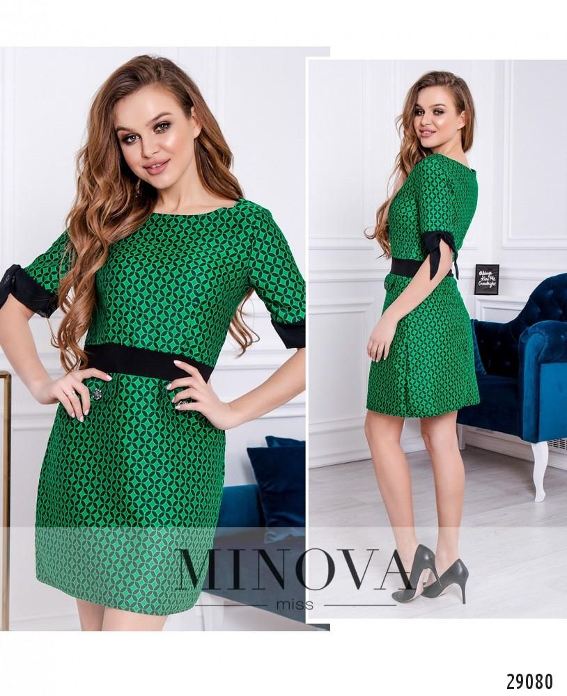Платье №259-зеленый (н)