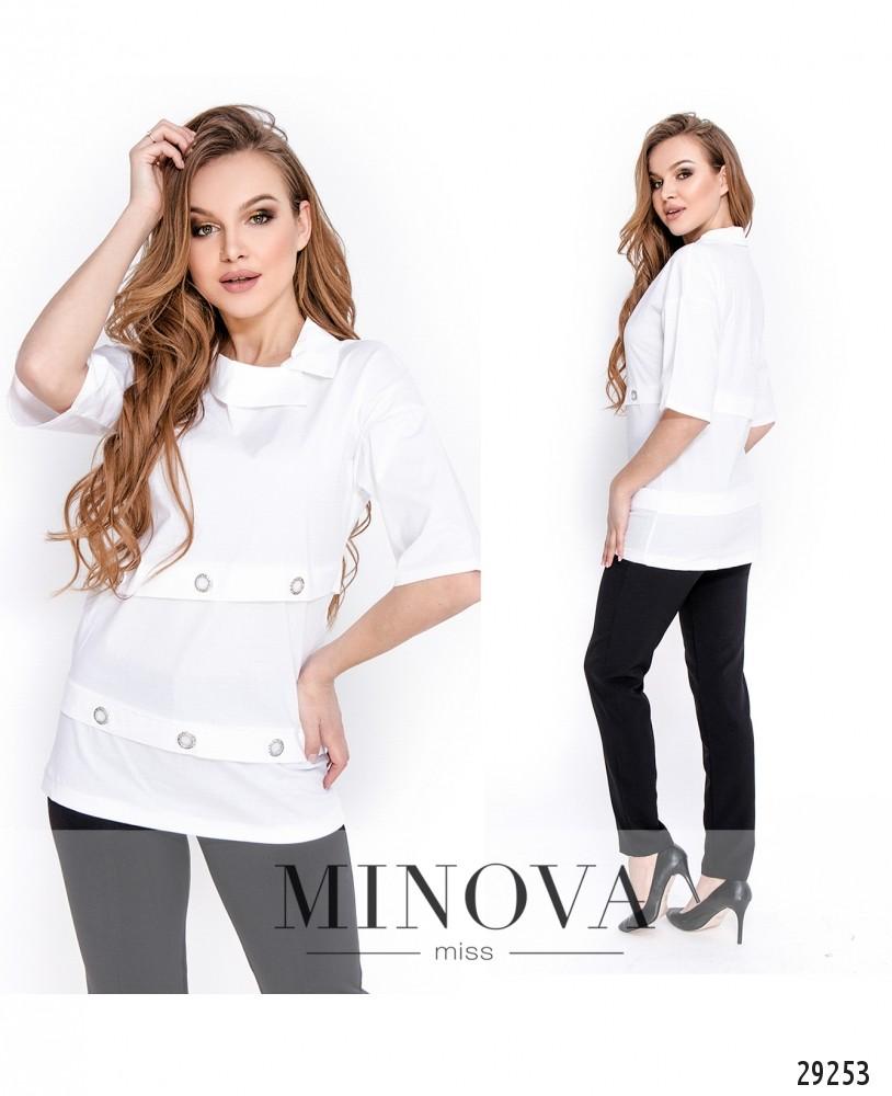 Рубашка №1642-белый (н)