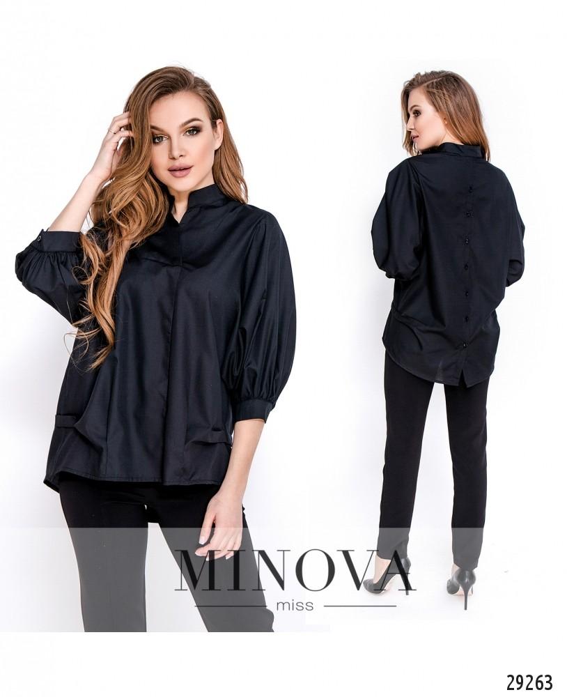 Блуза №3177.16-черный