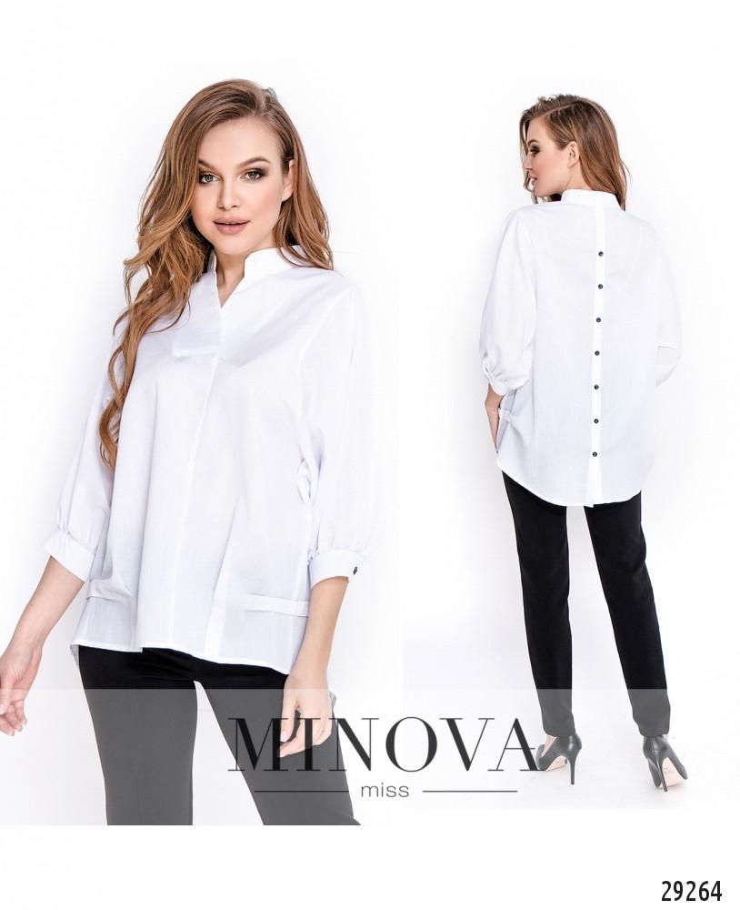 Блуза №3177.16-белый