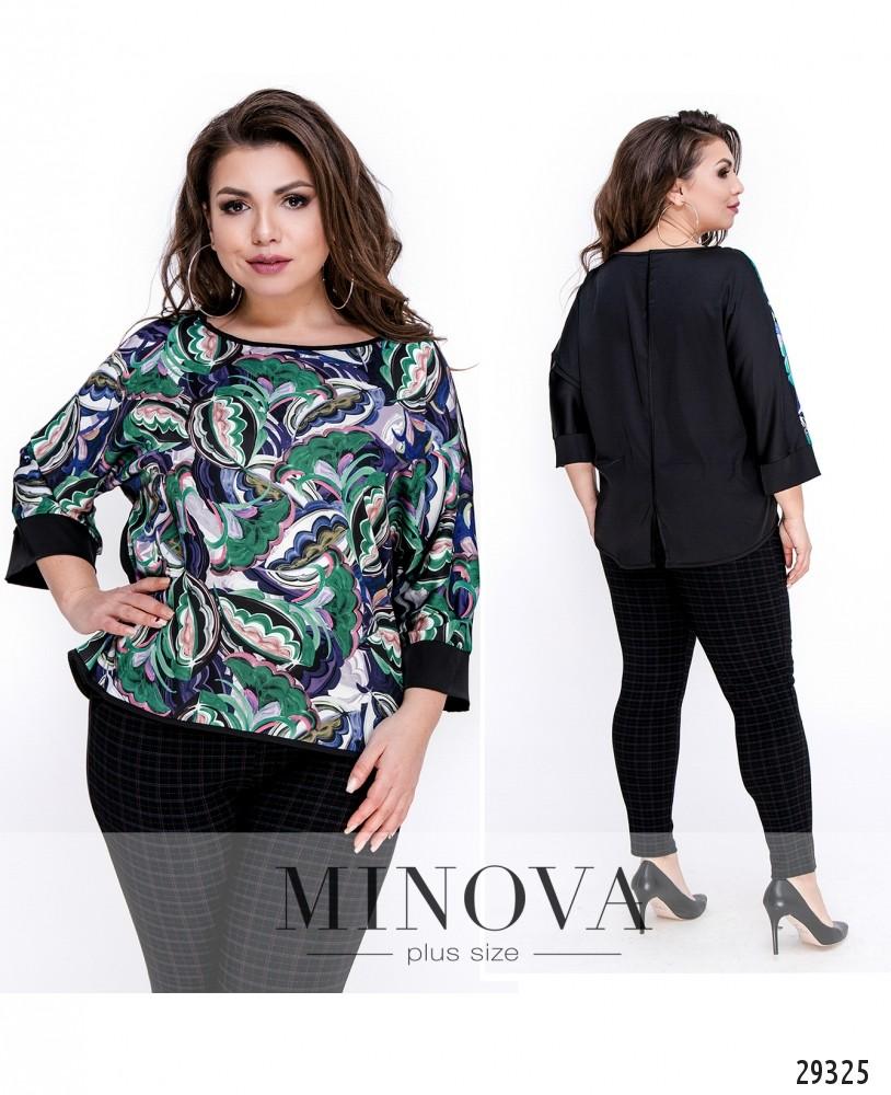 Блуза №010-черный