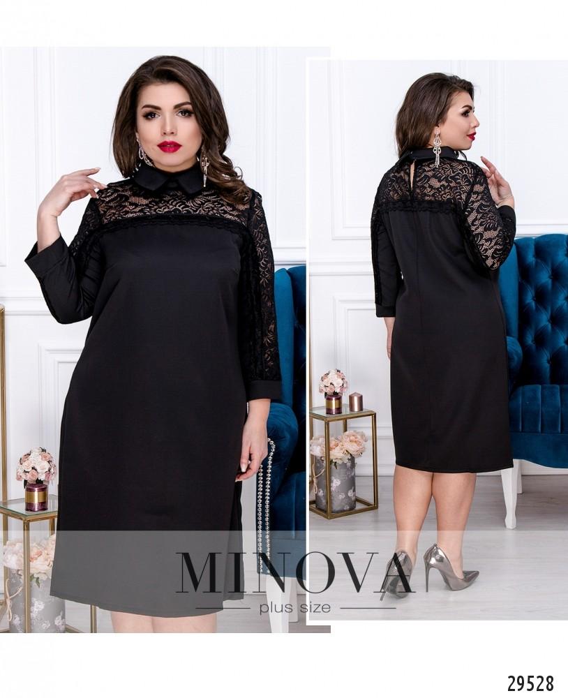 Платье №554-черный (sale)