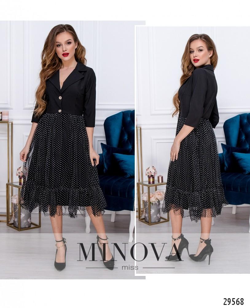 Платье №209-1-черный (н)