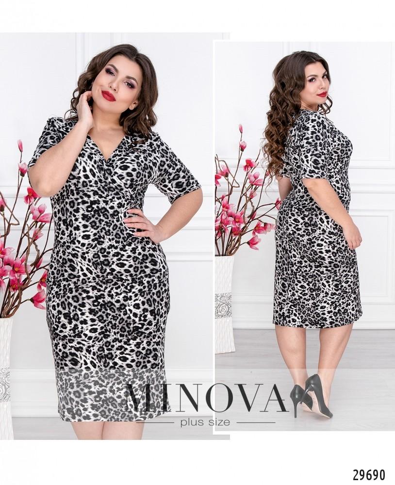 Платье №160-серый (sale)