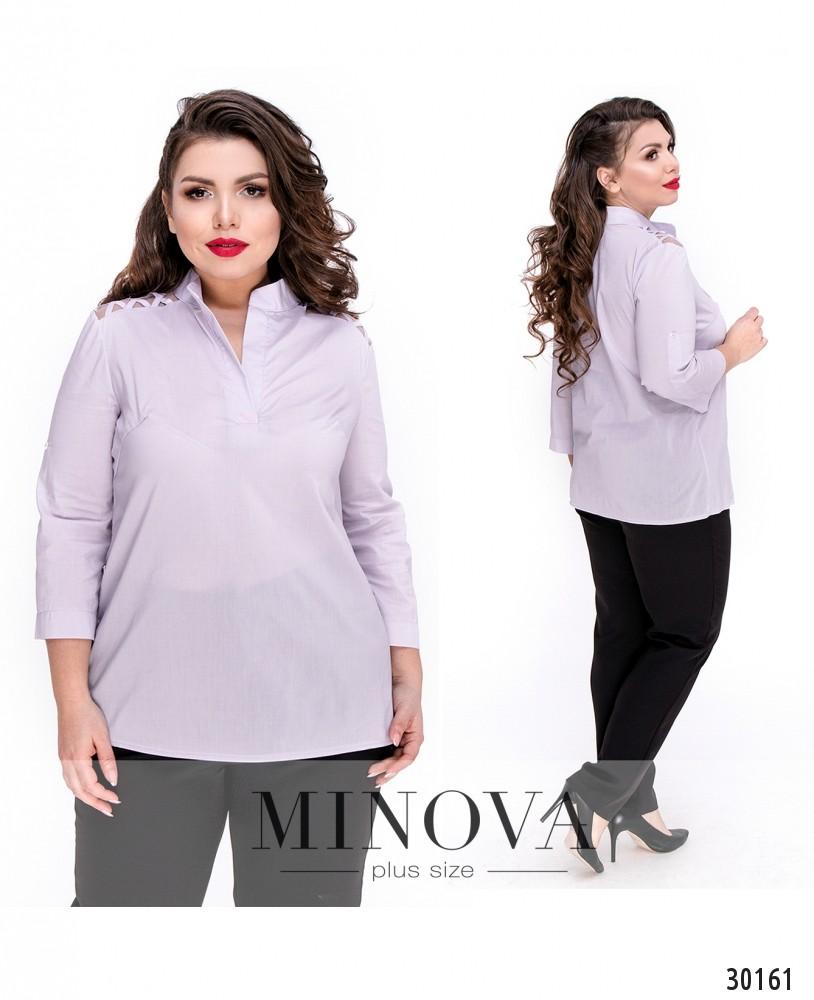 Блуза №4100Б-лавандовый