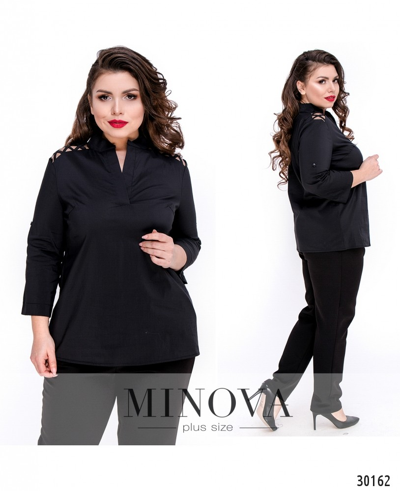 Блуза №4100Б-черный