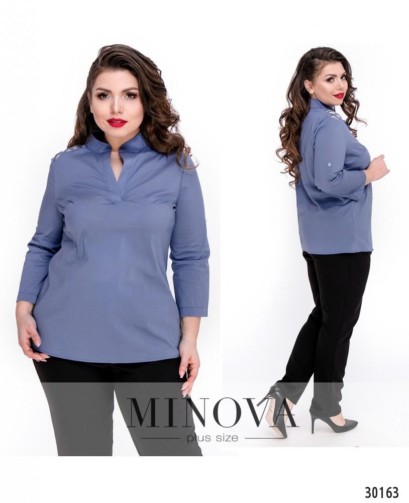 Блуза №4100Б-джинс