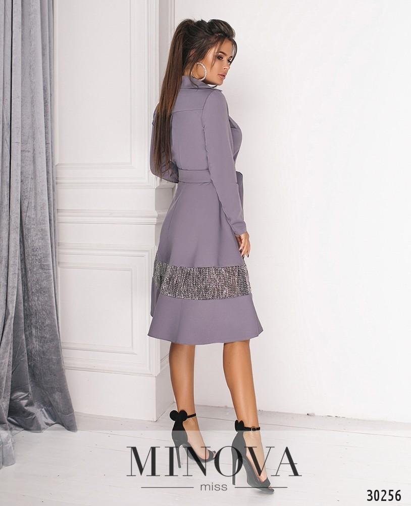 Платье №558-серый (sale)