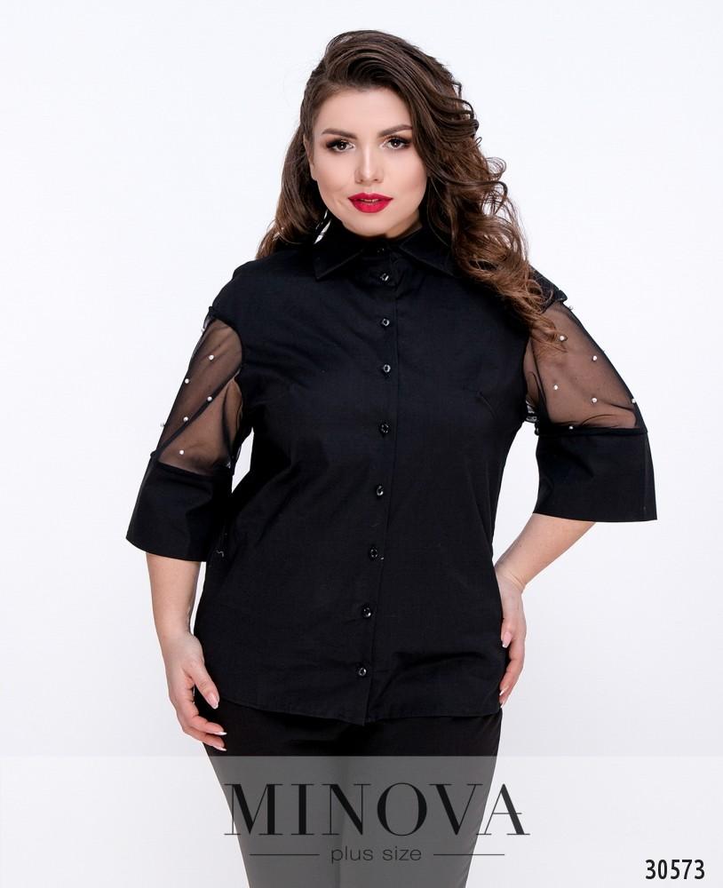 Блуза №4099Б-черный