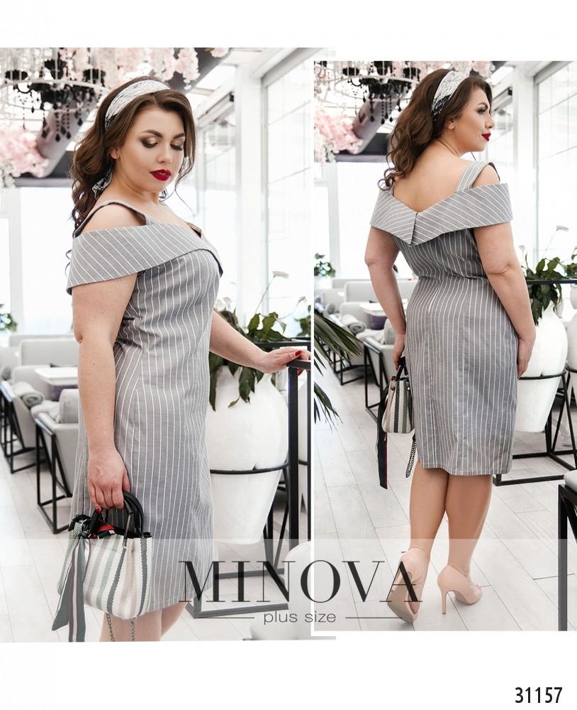 Платье №169-серый