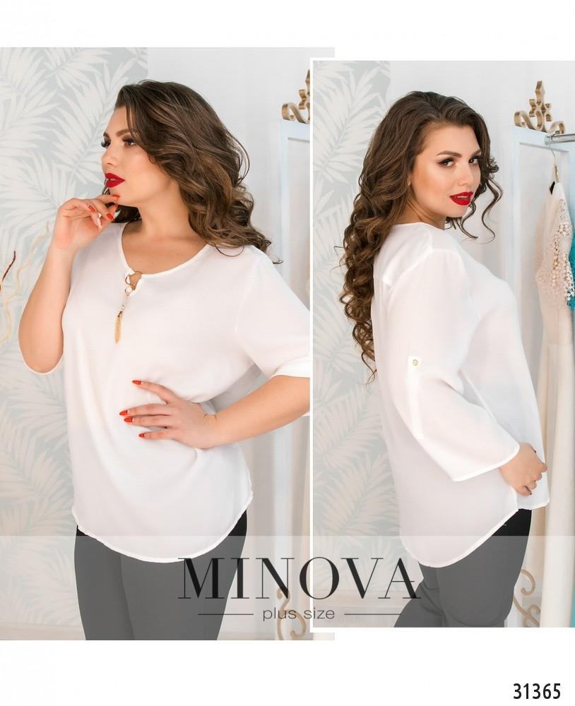 Блуза №07-белый