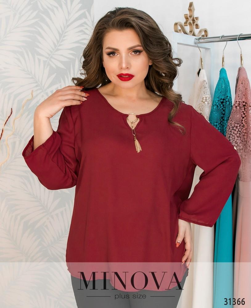 Блуза №07-бордо