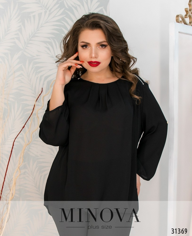 Блуза №08-черный