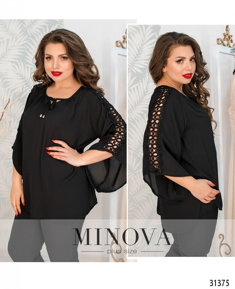 Блуза №06-черный