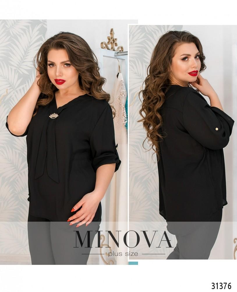 Блуза №4106-черный