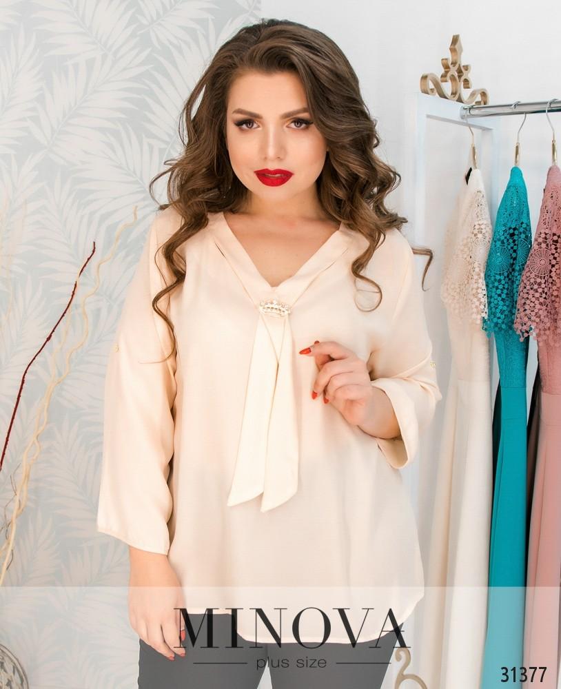 Блуза №4106-беж