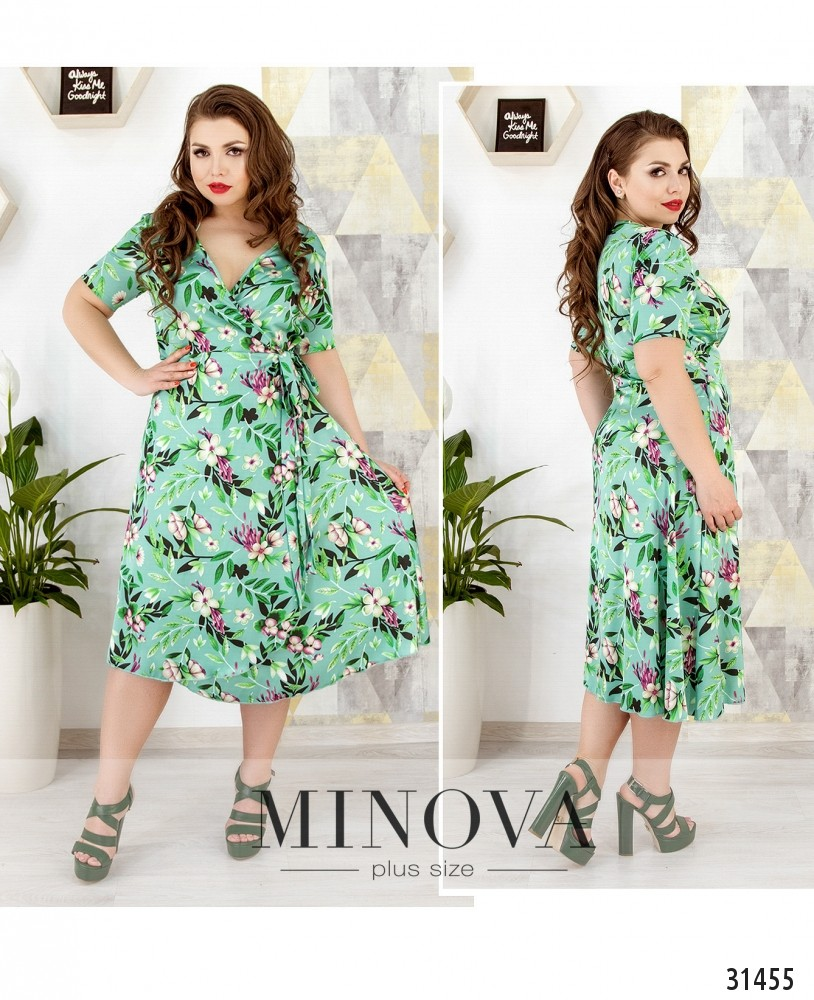 Платье №652-мята (sale)