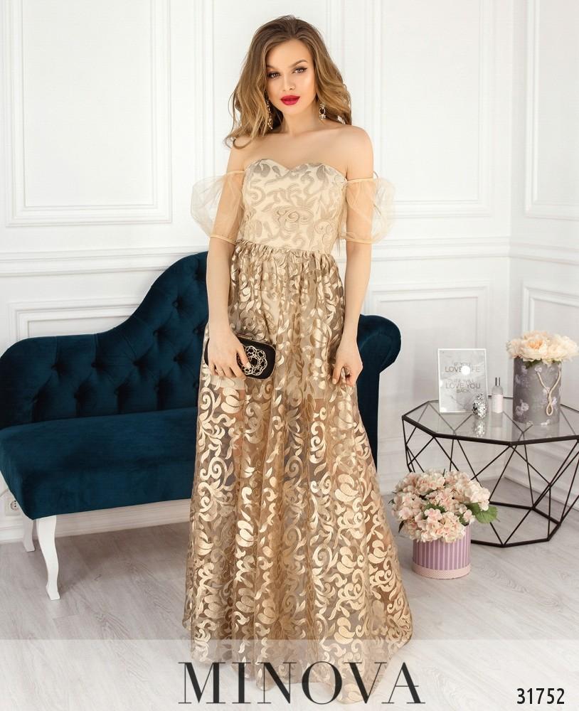 Платье №17530-золото