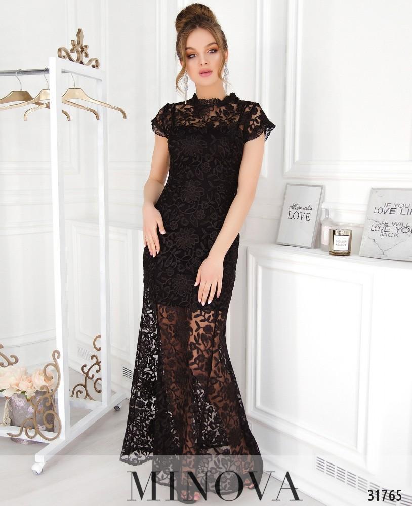 Платье №41217-черный