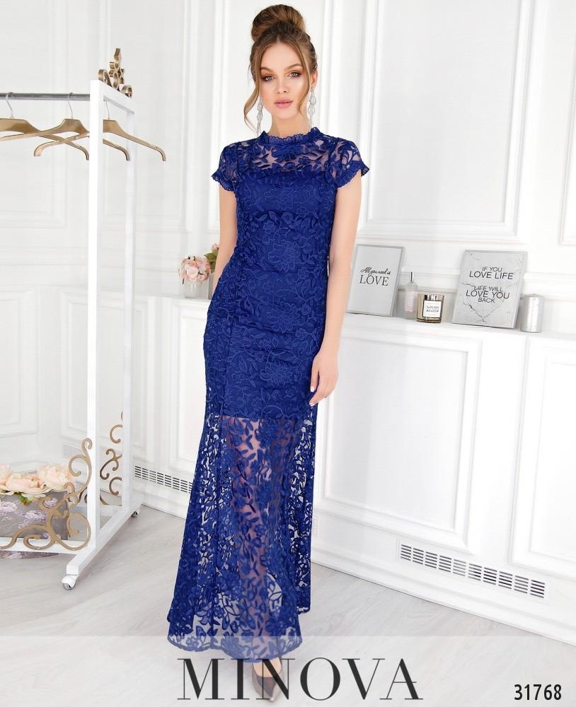 Платье №41217-электрик