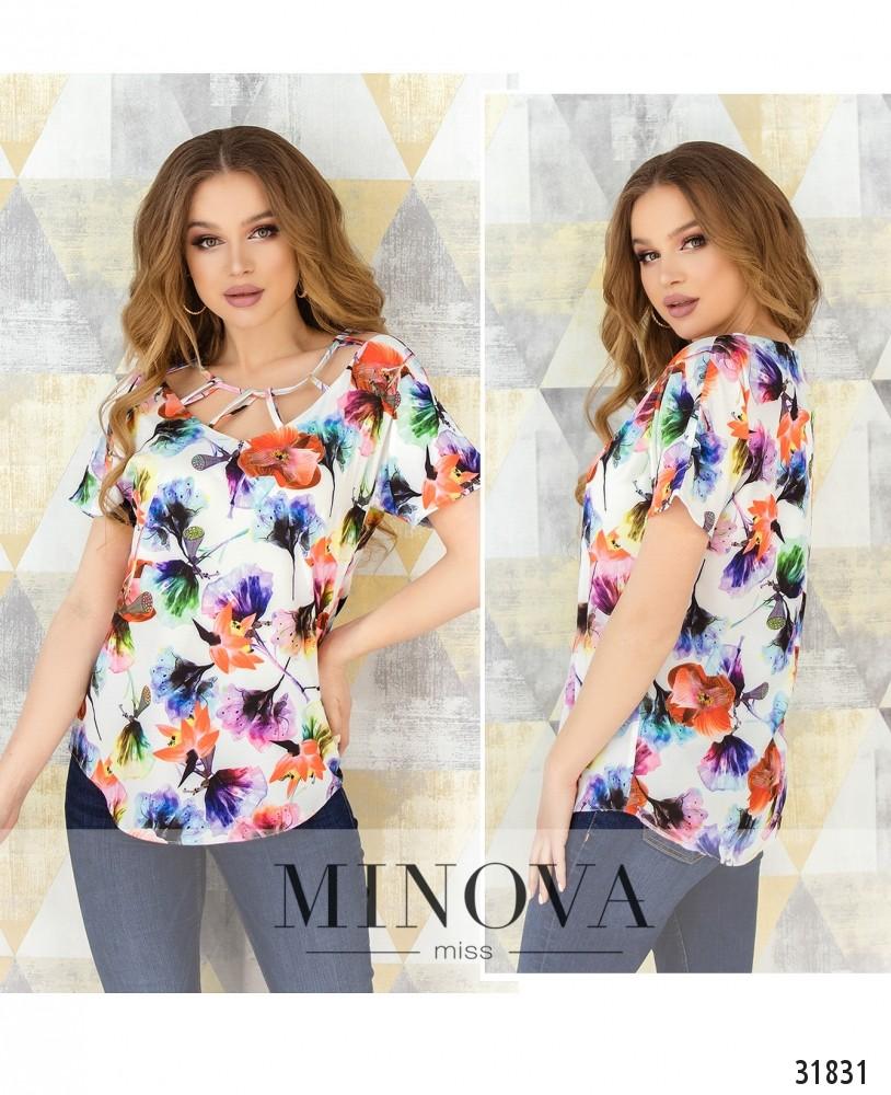 Блуза №170-белый (н)