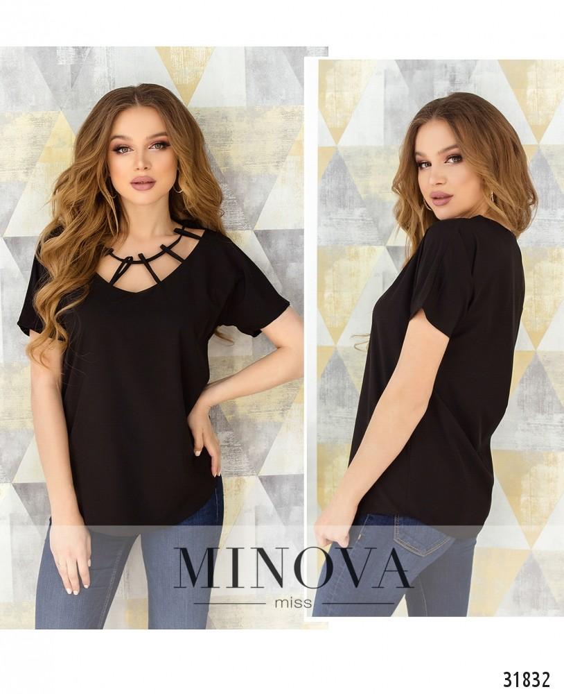Блуза №170-черный (н)