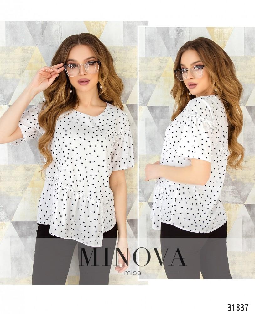 Блуза №168-горох (н)
