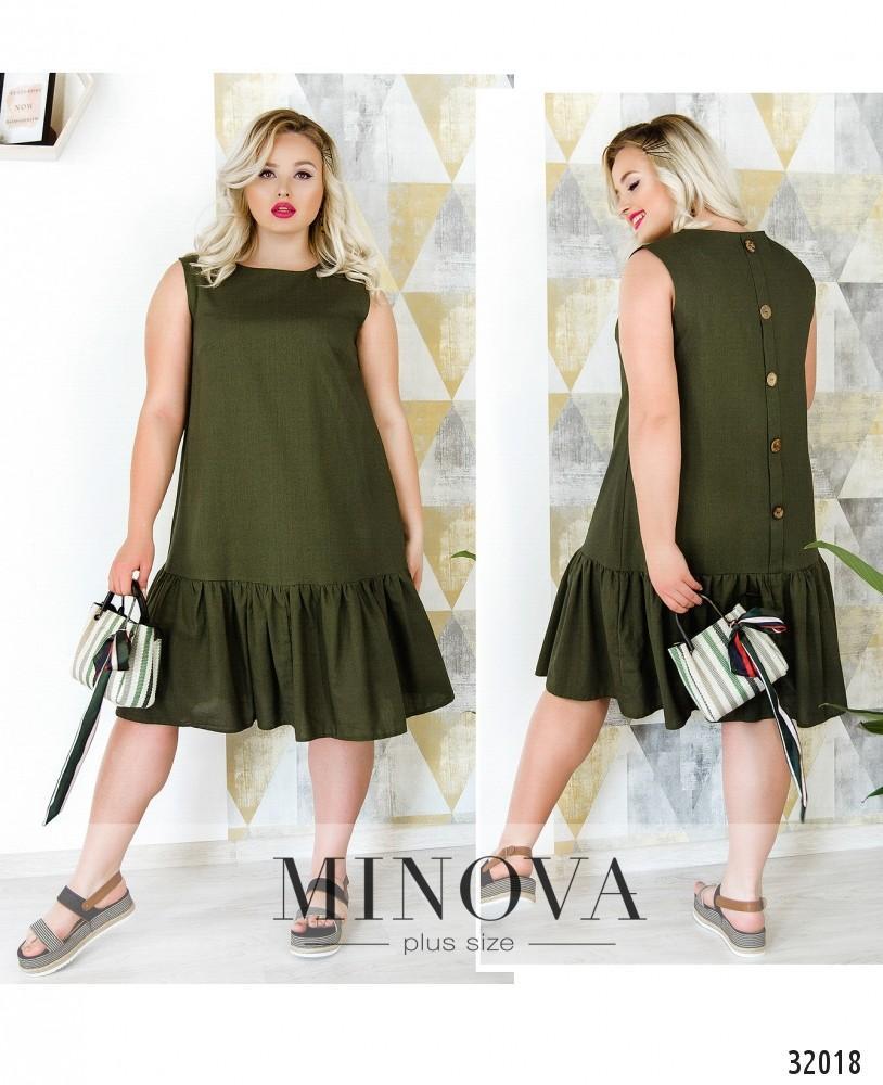 Платье №16400-1-хаки (sale)