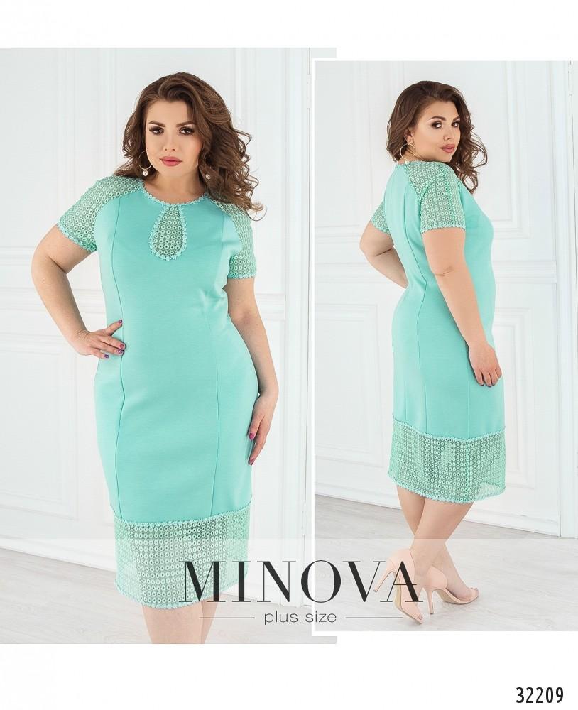 Платье №176-мята (sale)