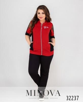 5d3ad1ac91a Женские спортивные костюмы большого размера оптом и в розницу от ...
