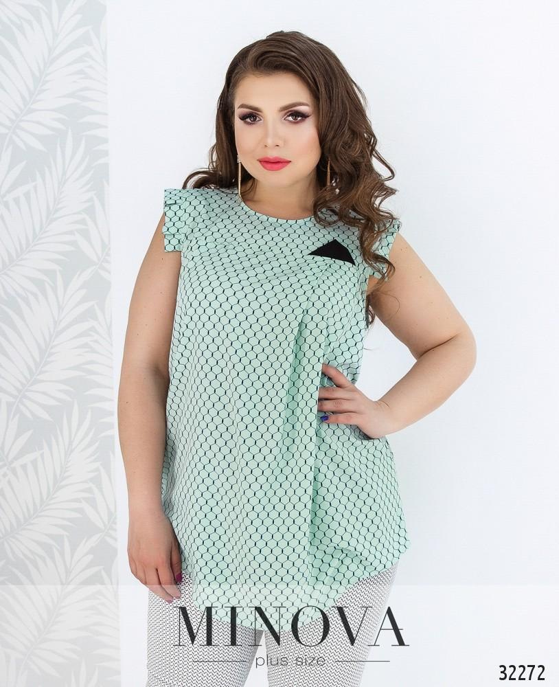 Блуза №171Б-ментол
