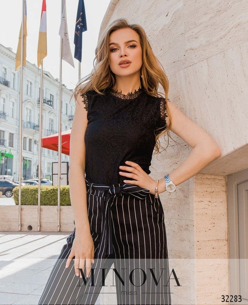 Блуза №3075.16-чёрный