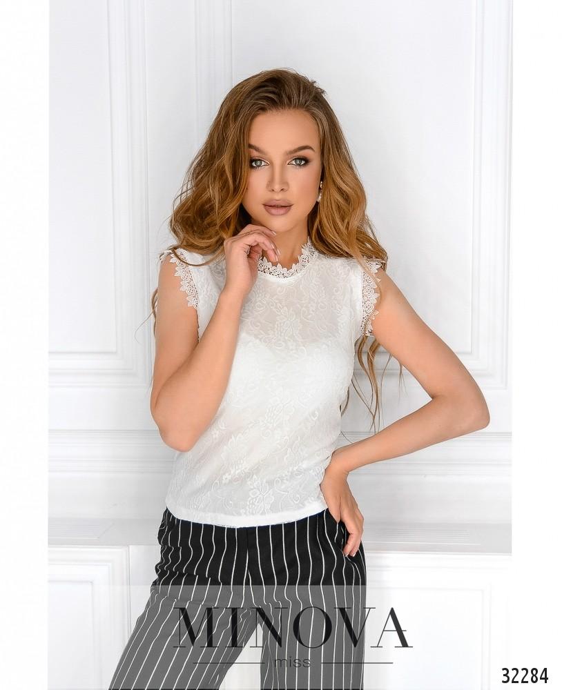 Блуза №3075.16-белый