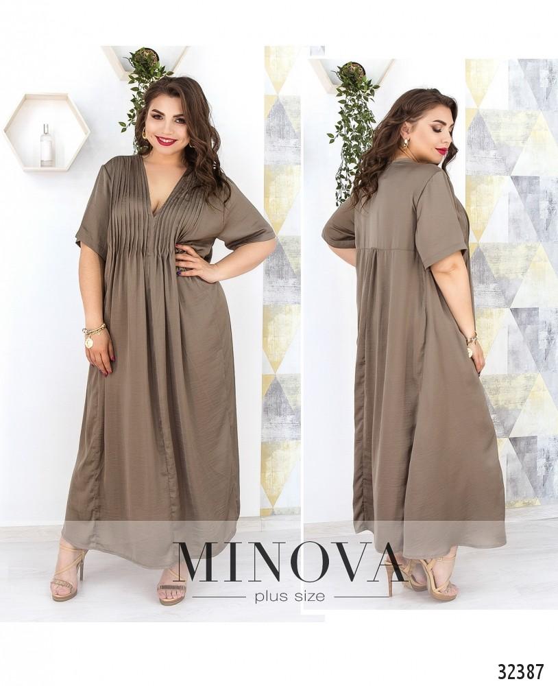 Платье №19-17-дымчато-серый (sale)