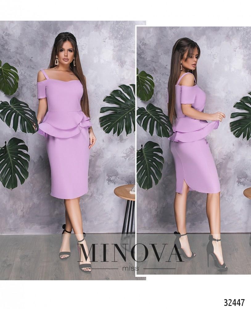 Платье №517-лавандовый (sale)