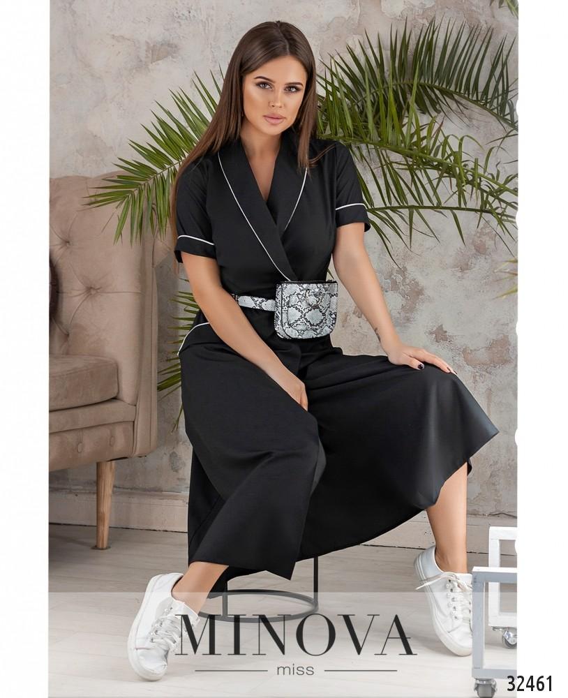 Платье №567н-черный (sale)