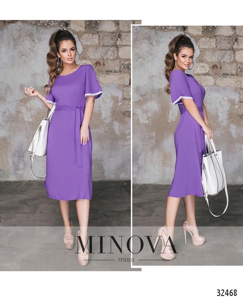 Платье №378н-фиолетовый (sale)