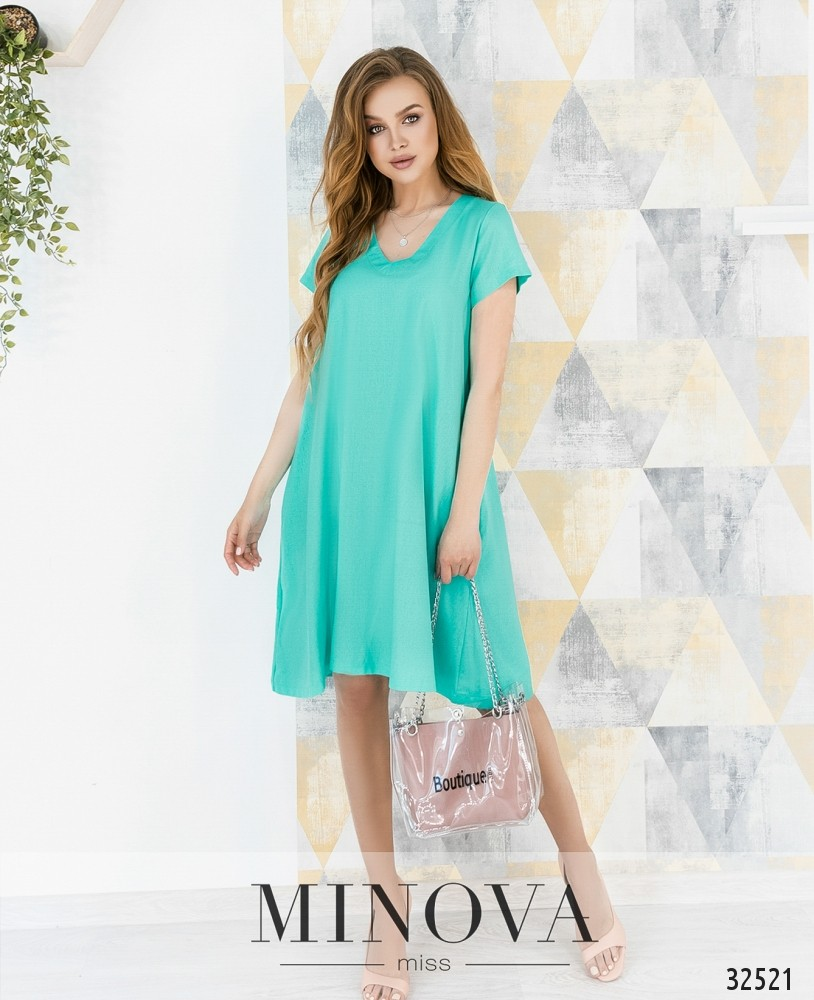 Платье №482-ментол