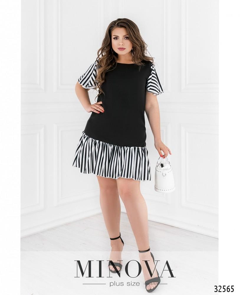 Платье №110-1-черный