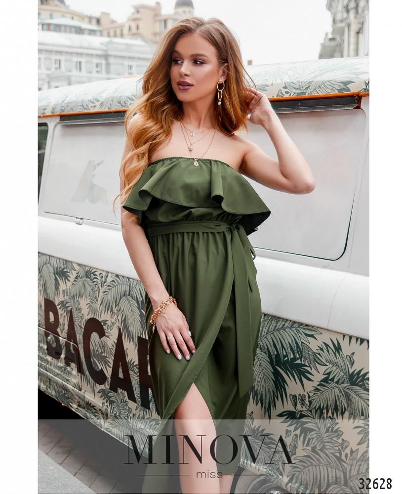 Платье MA8608-хаки (н)