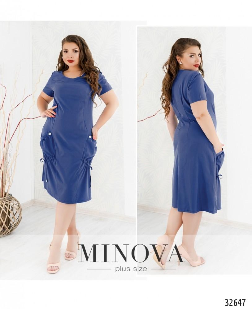 Платье №8-162-деним