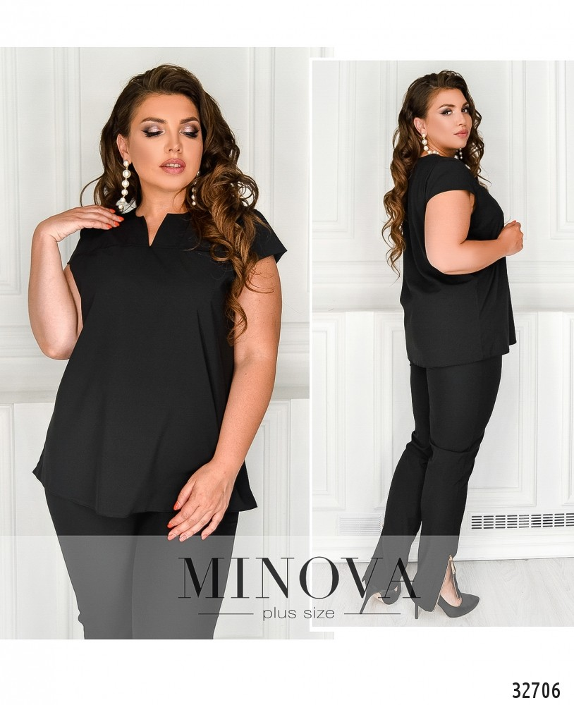 Блуза №174Б-черный