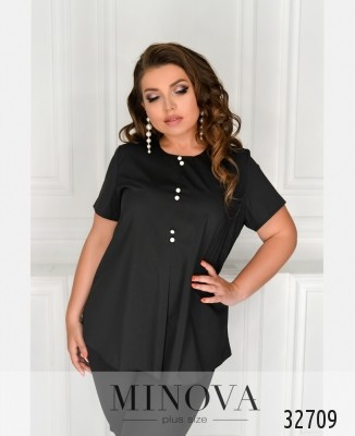 15f0dc506a0d7 Женские рубашки и блузы большого размера оптом и в розницу от ...