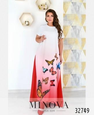 2eec879d Женские платья большого размера оптом и в розницу от производителя ...