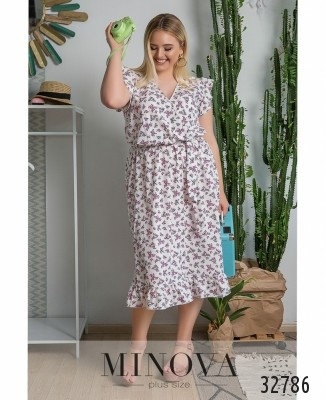 37b7eb411df3327 Женские платья большого размера оптом и в розницу от производителя ...